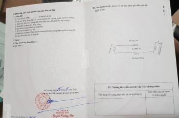 Cần bán đất ở thôn Trạm Bạc, xã Lê Lợi, huyện An Dương, TP. Hải Phòng. ĐT: 0988246790