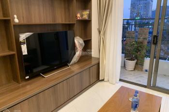 Cho thuê căn hộ Wilton Tower, 68m2, 2 phòng ngủ, 2WC, tầng cao, view sông, full NT, 17tr/tháng