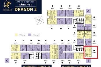 Chính chủ bán căn TOPAZ ELITE quận 8 -  3 phòng ngủ Dragon 2B căn số 9 vị trí đẹp thoáng mát