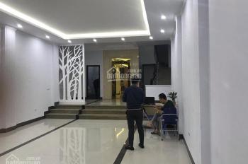 Cho thuê nhà phố Nguyễn Khang. DT 100m2 x 7 tầng, MT 6,5m