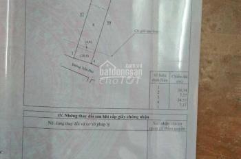 Bán đất 7.3x35m, Trần Phú, TT Gia Ray, Xuân lộc, Đồng Nai, giá 4,75 tỷ (TL) 0901433596