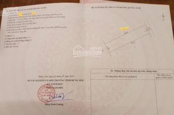 Bán 122m2 đất thôn Vĩnh Tuy, Liên Nghĩa, Văn Giang, Hưng Yên sát PVF, Tỉnh lộ 379, LH 0916247433