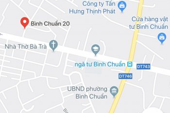 Bán đất chính chủ Bình Chuẩn - Thuận An, 1.1 tỷ. 0961.01.41.61 (CC)