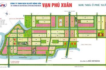 Đất nền KDC Vạn Phát Hưng Phú Xuân 144m2, 32tr/m2, mặt tiền đường Số 2, LH 0984975697 Bích Trâm