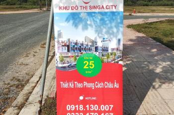 Bán đất nền dự án Singa City, rẻ nhất dự án giá từ 25 tr/m2