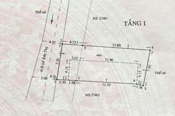 Bán đất mặt tiền đường số Gò Vấp, gần nhà văn hóa thiếu nhi, tiện xây khách sạn, phòng trọ