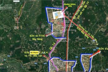 80m2 đất thổ cư ngay Khu Công Nghiệp Bàu Bàng đối diện trường THCS Lai Uyên giá chỉ 590 triệu