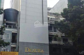 Cho thuê nhà mặt tiền đường Cao Thắng, quận 10. 8 x 18 KC: 6 tầng, Giá: 200tr/tháng.