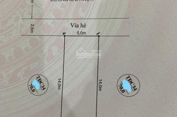 Bán căn nhà 3 tầng xây mới trong khu Tái định cư Xi Măng, HB, HP - Giá 3,3 tỷ 0936597928