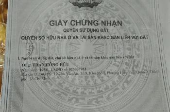 Bán đất gần Đình Phong Phú, Tăng Nhơn Phú B, Quận 9
