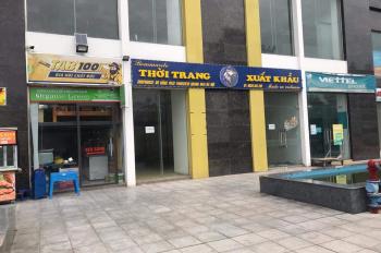 Cho thuê kiot tầng 1 toà nhà park view Đồng Phát, tại Tam Trinh,73m2,Mt 7m, có gác xép, wc khép kin