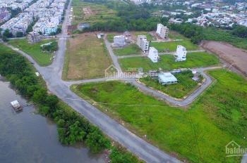 Chính chủ bán 100m2 đất MT Phạm Hùng, KDC 6B Kiên Cường, Bình Chánh đường 10m, sổ riêng giá 14tr/m2