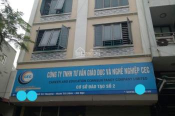 Cho thuê nhà Mễ Trì Thượng, 85m2 x 6T, biệt thự Mễ Trì Hạ 160m2 x 4 tầng