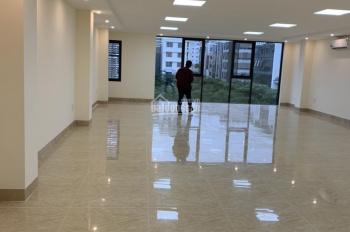 Cho thuê nhà mặt phố Vũ Phạm Hàm, Cầu Giấy, DT 75m2*5 tầng, MT 5m, phố kinh doanh vỉa hè rộng