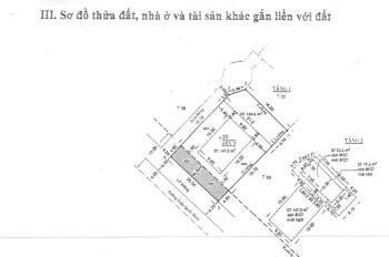 Bán biệt thự siêu đẹp vị trí 3 mặt tiền ngay MT Võ Thị Sáu, DT 23,3m x32m, 1 lầu. Giá 200 tỷ