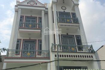 Bán nhà 1 trệt lửng 2 lầu 4x15m, giá 4.15 tỷ, HXH đường Hương lộ 80, P. Hiệp Thành, Q12