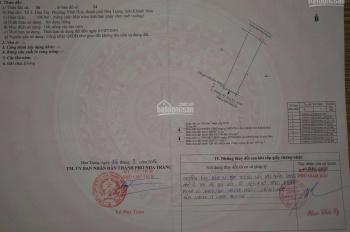 Bán đất hai mặt tiền trước và sau đường Nguyễn Đức Thuận, khu đăng kiểm, Vĩnh Hòa, Nha Trang