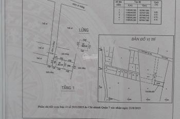 Bán nhà sổ riêng, hẻm 1247 Huỳnh Tấn Phát, dt đất 41m2, giá chỉ 2ty8