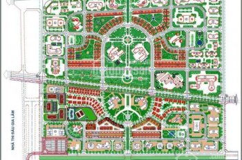 Bán biệt thự đơn lập Lan Viên, khu đô thị Đặng Xá, Gia Lâm, Hà Nội