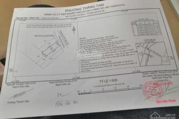 Bán đất mặt tiền đường Phạm Thế Hiển, P Thắng Tam, Tp Vũng Tàu. Diện tích đất, 80m2 thổ cư.Giá 4,8t