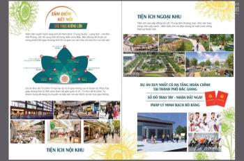 Mở bán đất nền khu đô thị Dĩnh Trì, TP Bắc Giang