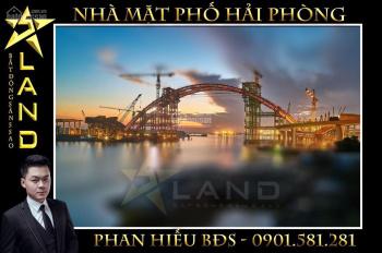 Chính chủ bán nhà mặt đường Hoàng Minh Thảo, lô góc 2 mặt tiền, 60m2, MT 4,4m - Liên hệ 0901581281