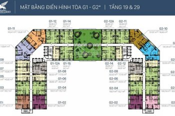 Chính chủ cần bán căn hộ 2PN, 70m2 3PN, 108m2, Sunshine Garden, giá 28 triệu/m², LH 0342919600