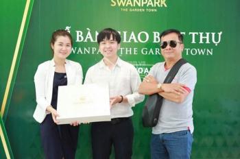 Nhà phố SwanPark 6.3x17m, 1 trệt 2 lầu, giá 2.3 tỷ (bao gồm chênh lệch). Call 0902513911
