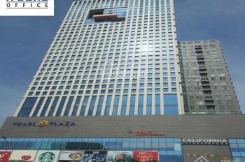 Cho thuê văn phòng Pearl Plaza ,Đường Điện Biên Phủ,Quận Bình Thạnh,DT 350m2, giá 209tr/tháng