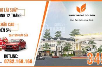 Phúc Hưng Golden thông tin chính thức dự án hot nhất Chơn Thành, Bình Phước - 0782.168.168