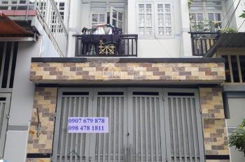 Nhà 1 lầu 3PN, 3.5x17m, Xuân Thới Thượng 7 sân xe hơi, gần ngã 5 Bà Điểm, chợ đầu mối Hóc Môn