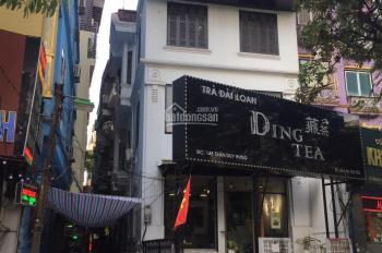 Cho thuê nhà mặt phố 148 Trần Duy Hưng, 90m2, có hầm xe, mặt tiền 7m, lô góc 2 MT - 0976.075019