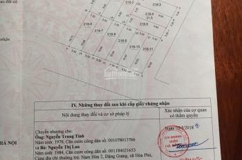 Bán đất đấu giá Quang Lãm - Phú Lãm - Hà Đông, 32m2, mặt tiền 3,2m, giá 27tr/m. LH: 0966526555