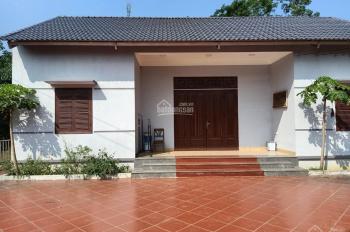 Cần bán nhà đất 1000m2 đã có khuôn viên nhà vườn hoàn thiện giá đầu tư tại Cư Yên, Lương Sơn, HB