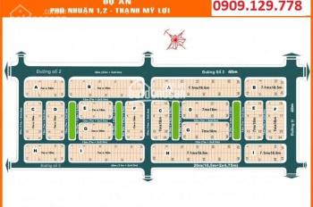 Cần bán đất nền Phú Nhuận 2, P. Thạnh Mỹ Lợi, Q2, DT 7x18,5m giá 66tr/m2