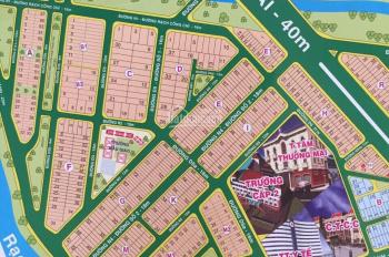Chính chủ bán đất nền KDC Đại Phú, đường Phạm Hùng, xã Bình Hưng, Bình Chánh DT 5x20m, giá 45tr/m2