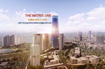 The Matrix One - S: 86 - 113m2 - CK 10% - LS 0%/24 tháng - Miễn 3 năm PQL BG: 12/2021. 0918.11.4743