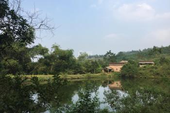 Cần chuyển nhượng lô đất 6652,8m2 đã có khuôn viên nhà vườn chưa hoàn thiện tại Tiến Xuân, TT, HN
