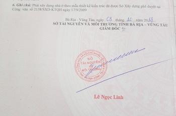 Bán đất 100m2 thổ cư 100% phường 12 Vũng Tàu Lien he : 0906622929
