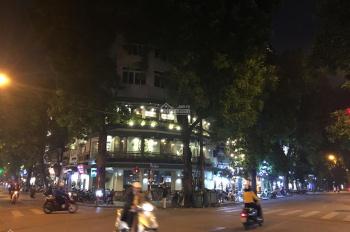 Bán nhà mặt phố Hàng Bông, DT 50m2 x 4T, nhà lô góc 2 mặt phố, mặt tiền rộng 15m. LH: 0964488868