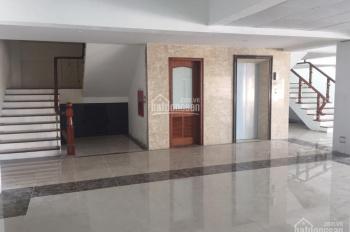 Cho thuê tòa nhà mặt phố Nguyễn Thái Học: Diện tích 430m2 x 9 tầng, mặt tiền 15m, LH 0936030855