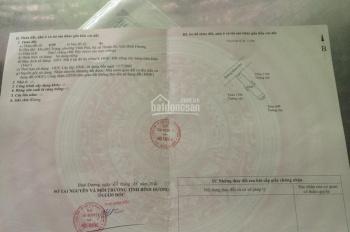 Kẹt tiền bán gấp đất Vĩnh Phú 20 đường nhựa 5m (đất dân) có sổ khu an ninh