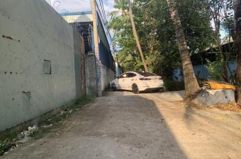 Bán đất hẻm betong 4m (25 x 65m) thổ cư 400m2. Phường Thạnh Lộc, Quận 12, TPHCM