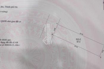 Mảnh đất đẹp TT Trâu Quỳ, DT 97m2, MT: 4,62m, đường rộng, KD tốt, giá rẻ