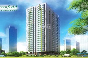 Cho thuê căn hộ Green Field 686 Bình Thạnh căn 2 PN 2WC, view sông, full nội thất. Giá 15tr/tháng