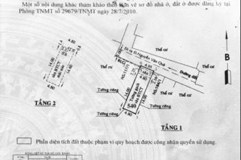 Cần tiền bán gấp nhà hẻm cách Nguyễn Văn Quá 150m,DT 4,95X16m, chính chủ 4,2 tỷ, TL