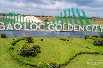Bán lô đất dãy A Bảo Lộc Golden City cam kết rẻ nhất cách chợ 100m. LH 094.222.1353
