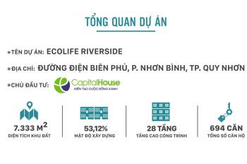 Bán căn hộ chung cư Ecolife Riverside Quy Nhơn - giá chủ đầu tư