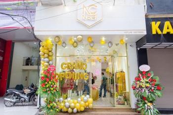 Cho thuê cửa hàng mặt phố Nguyễn Công Hoan: 40m2, mặt tiền 3,5m, thông sàn. LH: 0974557067