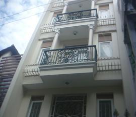 Bán nhà hẻm đẹp đường Chu Văn An, Quận Bình Thạnh DT: 42m2 3 lầu sân thượng + chuồng cu (mới 100%)